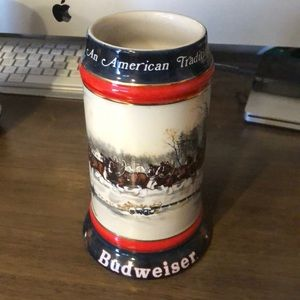 "Budweiser ""An American Tradition"" Stein"